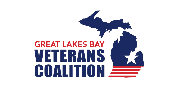 Logo for the Great Lakes Bay Veterans Coalition